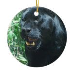 Black Panther Cat Ornament