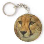 Cheetah Face Keychain