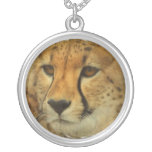 Cheetah Face Necklace