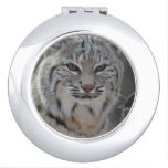 Creeping Bobcat Vanity Mirror