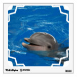 Lovable Dolphin Wall Decal