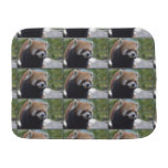 Sweet Red Panda Bear Burp Cloth