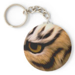 Tiger Photo Keychain
