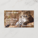 Watchful Leopard Business Card
